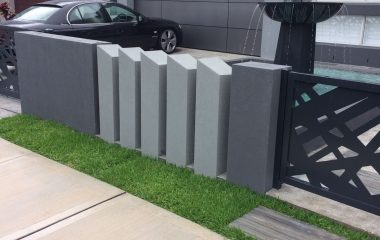 front wall cement rendering Sydney